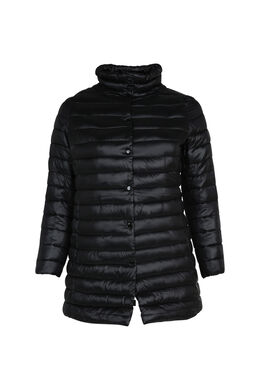 Lange donsjack, Zwart
