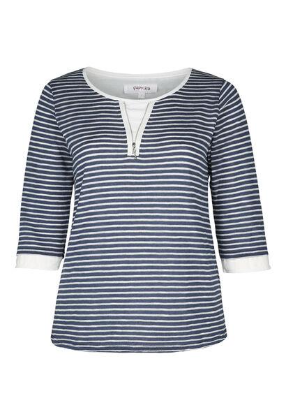 Gebreide trui - Marineblauw