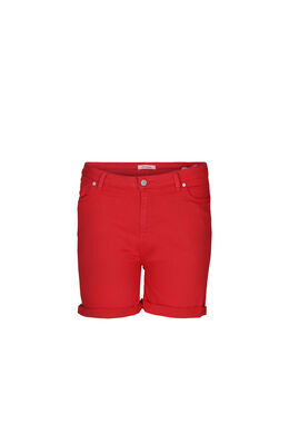 Katoenen short met 5 zakken, Oranje