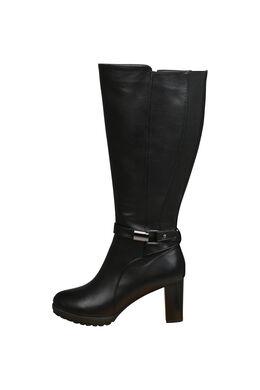Laarzen met hoge hakken, Zwart