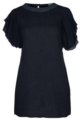 Linnen jurk, Marineblauw