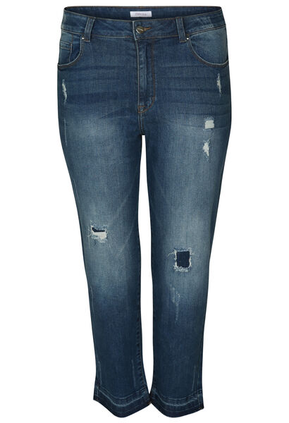 Korte jeansbroek - Denim