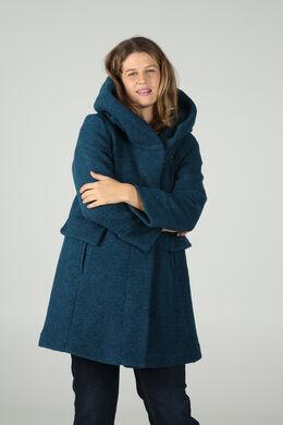 Wollen mantel, Emerald groen