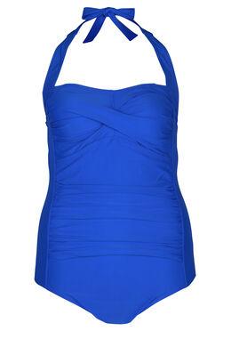 Effen badpak, Bic blauw