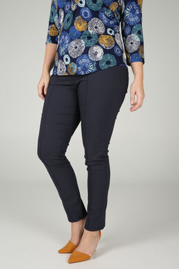 Jegging in bengaline, Marineblauw