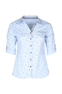 Hemd met libellen, Lichtblauw