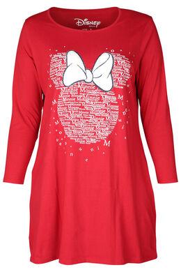 Nachtkleed Minnie, Rood