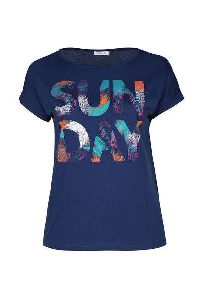 T-shirt 'Sun day' - Indigo