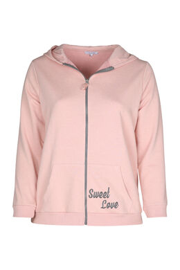 Homewear sweater, Roze