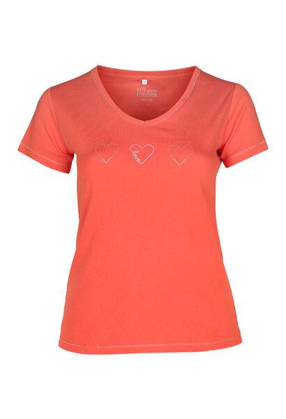 T-shirt biologisch katoen - Oranje