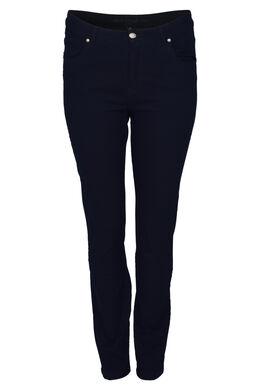 Jeans Lola 5 zakken, Marineblauw