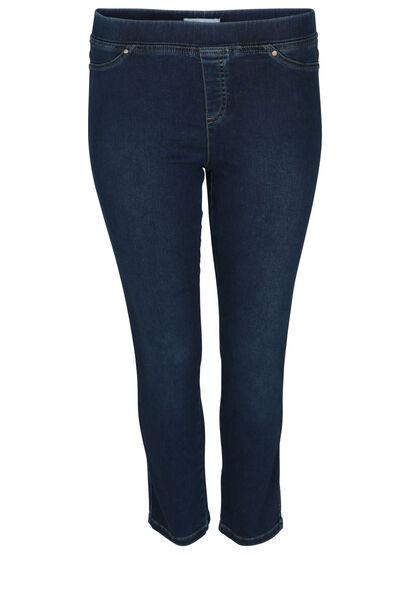 Jegging in jeans met 7/8-lengte - Denim