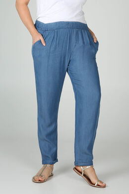 Kuitbroek in lyocell-jeans, Denim