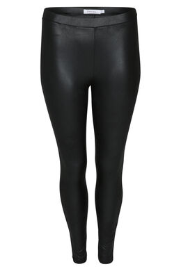 Legging in imitatieleder, Zwart