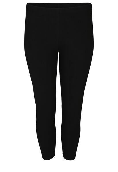 Legging in biokatoen - Zwart