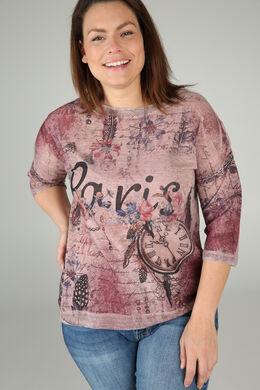 T-shirt 'Paris', Oudroze