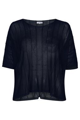 Blokvormige trui, Marineblauw