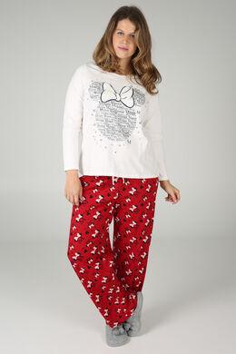 Pyjama Minnie, Rood