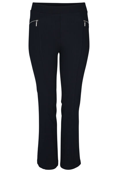 Stretch-jegging - Marineblauw