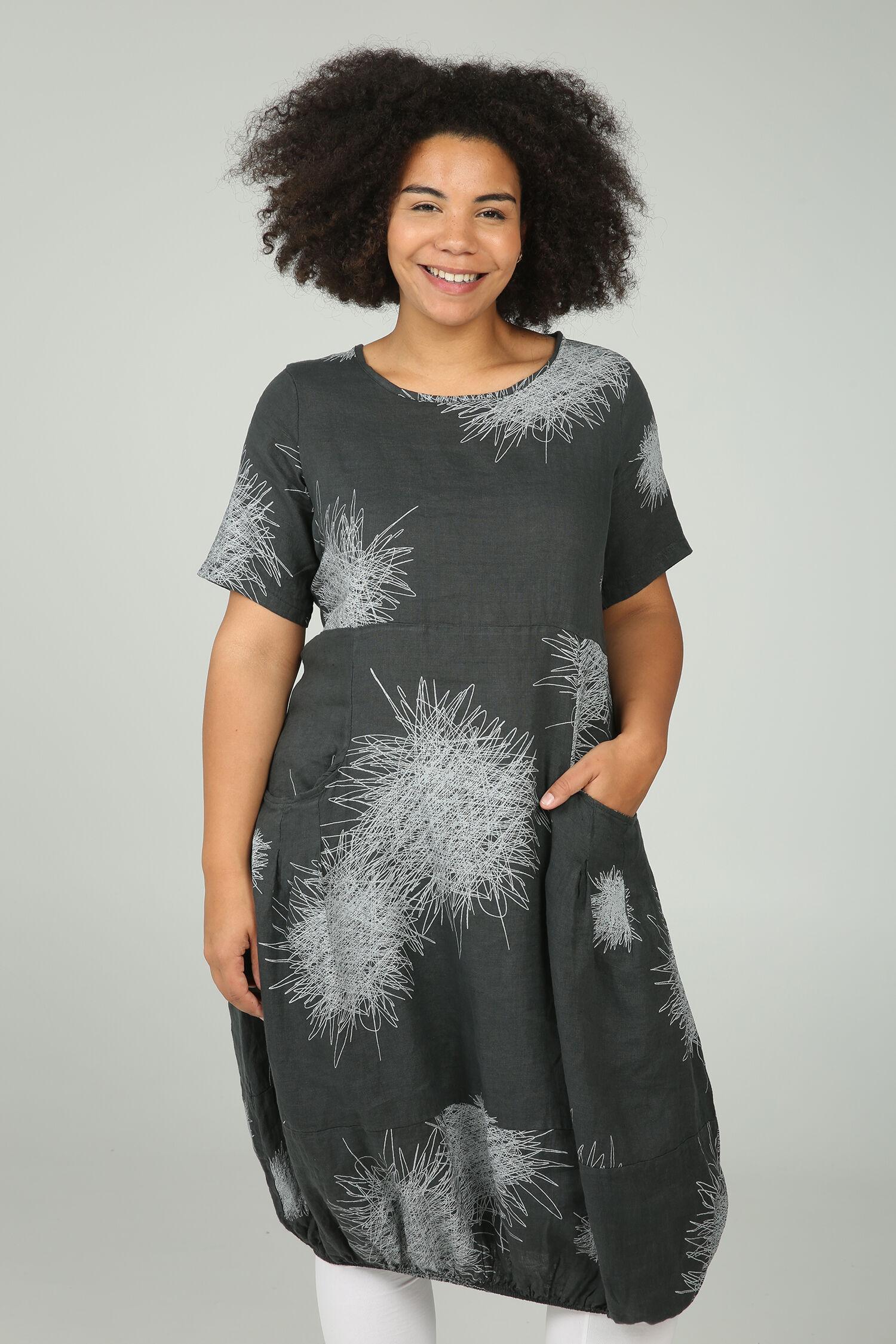 linnen jurk grote maat