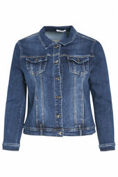 Afgewassen jeansjasje