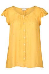 Geborduurde blouse
