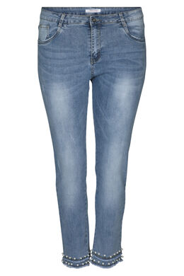 Kuitbroek in jeans, Denim