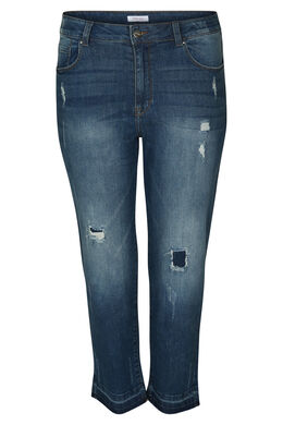 Korte jeansbroek, Denim