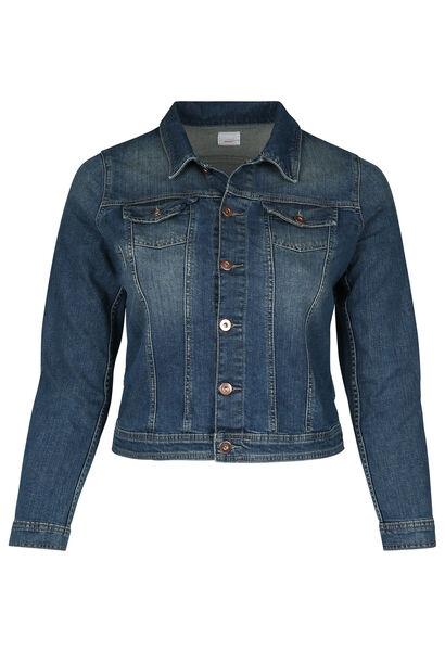 Kort jeansjasje - Denim