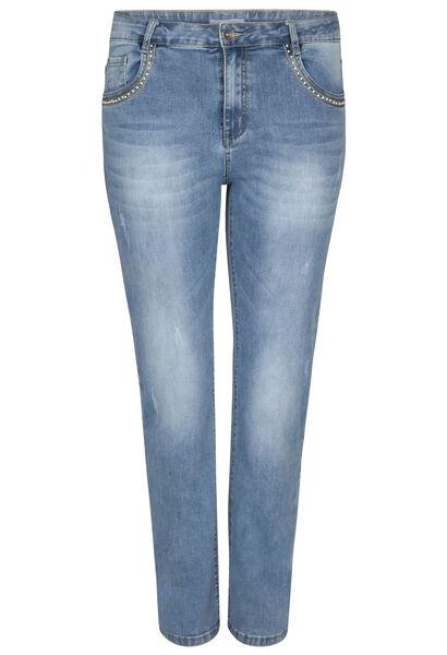 Straight jeans - Lengte 30 - Denim