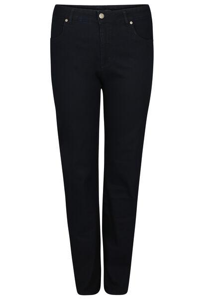Straight en extra lange magic-up jeans - Lengte 34 - Denim