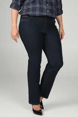 Extra lange bootcut jeans - Lengte 34, Denim