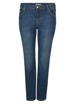 Straight jeans, Denim