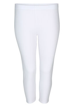 Legging in biokatoen, Wit