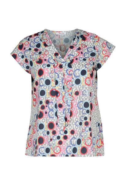 Bedrukte bloes - Multicolor