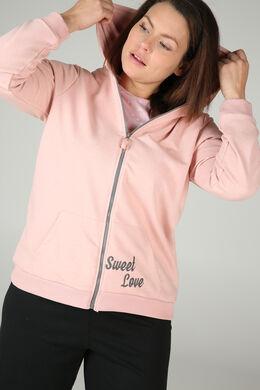 Homewear sweater, Roze