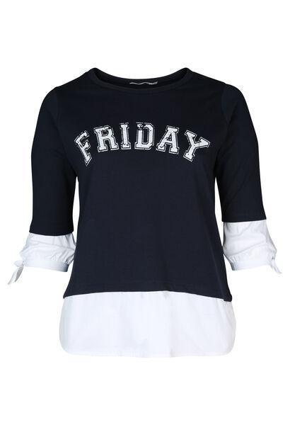 Sweat Friday - Marineblauw