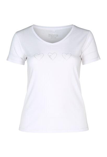 T-shirt biologisch katoen - Wit