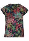 Blouse met jungleprint, Multicolor