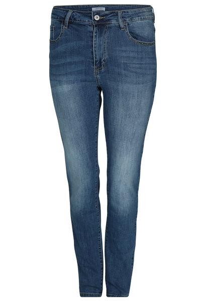 Jeans met strassteentjes - Denim