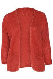 Bernadette-cardigan in mohair en wol