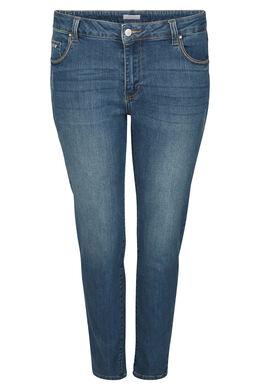 7/8 jeans met borduurwerk, Denim