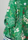 Bomberjack met bloemetjes, Groen