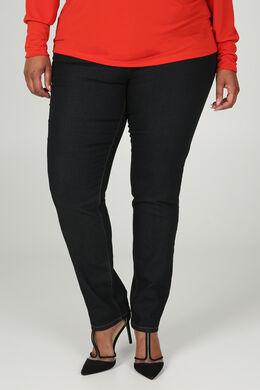 Donkere slim jeans, Donker denim