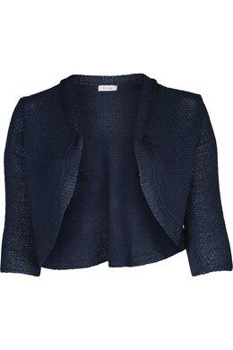 Bolero in tricot, Indigo