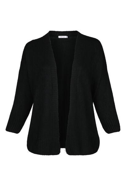 Losse cardigan - Zwart