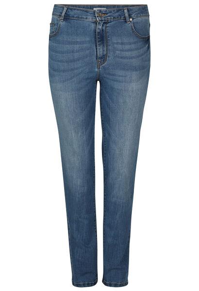 Slim jeans in katoen - Denim