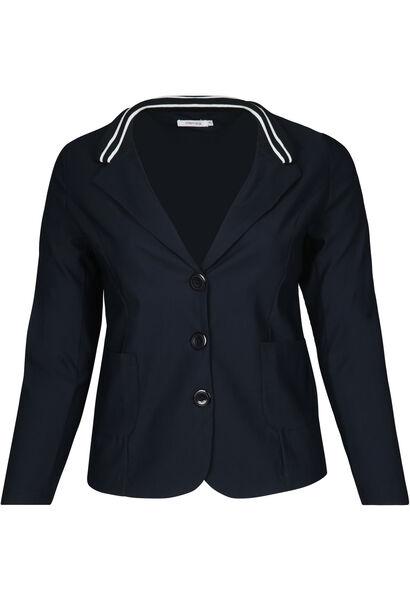 Sportswear-blazer - Marineblauw