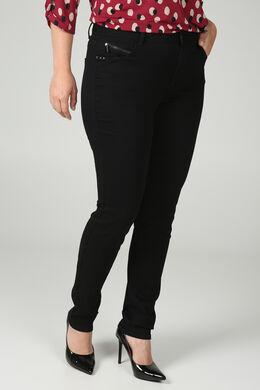 Extra lange, smalle broek, Zwart