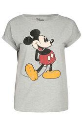 T-shirt met Mickey-print